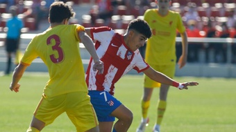 El Atlético confirmó su mejora en la Youth League. AtletiAcademia