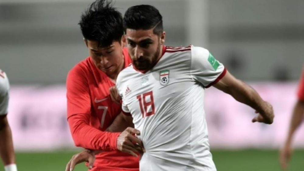 Alireza Jahanbakhsh no jugará contra el Maccabi Haifa. AFP