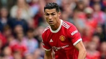 Cristiano Ronaldo motivou seus companheiros de equipe. AFP