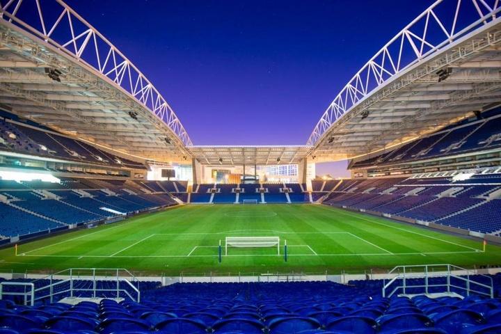 Imagens do Estádio do Dragão, completamente vazio. Twitter/FC Porto