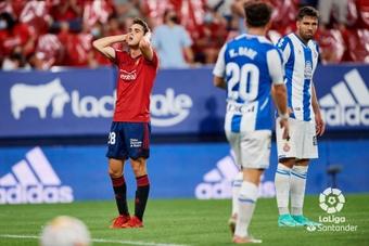 Osasuna y Espanyol se repartieron el botín en El Sadar. LaLiga