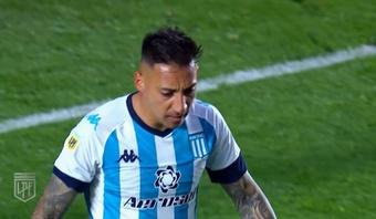 Racing perdió 1-2 ante Rosario Central. YouTube/LigaProfesionalArgentina