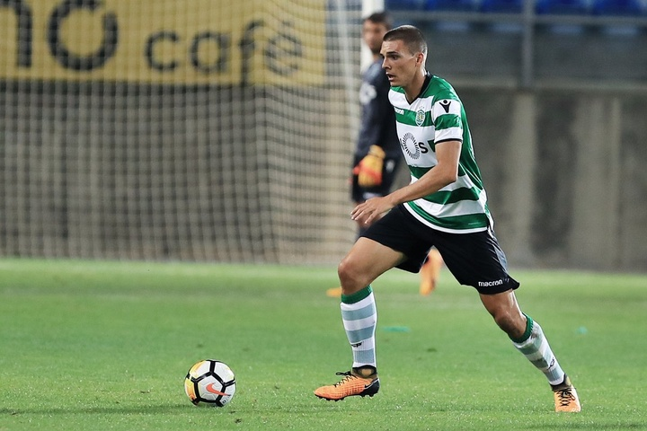 Le Sporting va prochainement prolonger Joao Palhinha. AFP