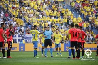 El derbi canario fue para Las Palmas. LaLiga