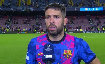 Jordi Alba est optimiste avant le Clasico. Capture/MovistarLigadeCampeones