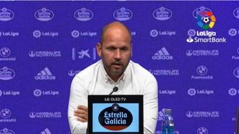 José Alberto valoró el empate contra el Valladolid. Captura/Youtube/LaLigaSmartBank