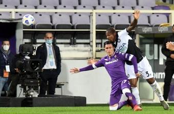 José Callejón quiere renovar con la Fiorentina. EFE
