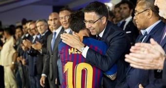 Bartomeu : Messi voulait quitter le club, mais j'ai toujours dit non. efe