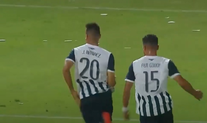 Juan Ramírez harta a San Lorenzo. Captura/FOXSports