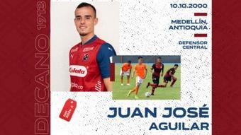 Independiente Medellín ficha a Juan José Aguilar. EFE/ Miguel Gutiérrez