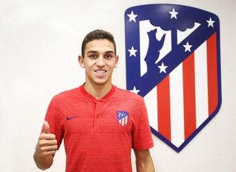 Sanabria part à l'Atlético San Luis. Twitter/AtletiAcademia