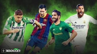 Los 10 jugadores con más partidos en LaLiga. BeSoccer Pro