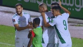 Argelia arrasó a Yibuti. Captura/FIFA.com