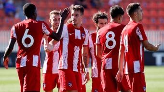 El Atleti B derrota al Sanse con grandes sensaciones. AtléticoDeMadrid