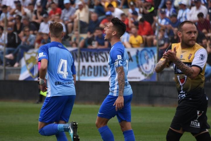 El TAD dio la razón al Atlético Malagueño en el 'caso Villegas'