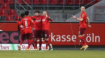 El Colonia venció 3-1 al Greuther Fürth y los hundió más en la clasificación. AFP