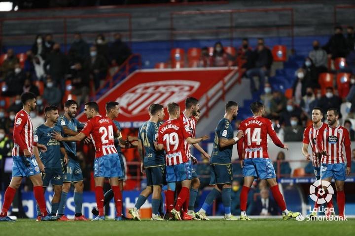 El Lugo venció por 2-0 ante Las Palmas. LaLiga