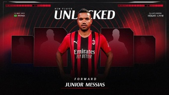 Junior Messias s'engage à l'AC Milan. afp