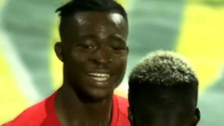 Kamal-Deen gusta a United y Ajax. Captura/Nordsjaelland
