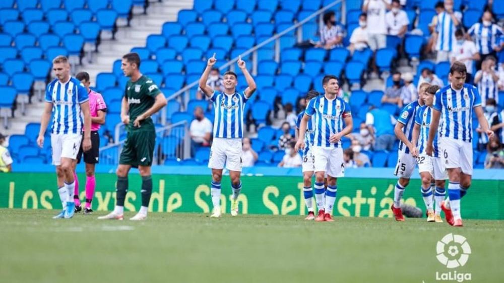 Xabi Alonso analizó el duelo ante el Fuenlabrada. LaLiga