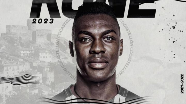 Kialy Abdoul Koné firma con el Castellón las siguientes dos temporadas. CDCastellon