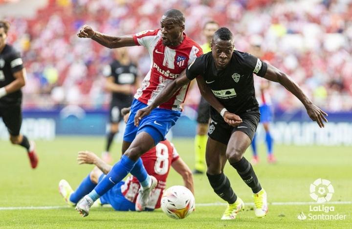 Kondogbia manquera le choc face au Barça. LaLiga