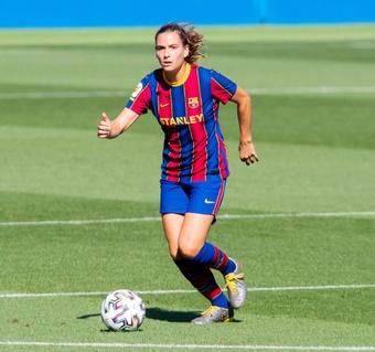 Laia Codina ya se ha recuperado de su lesión de rodilla. FCBarcelona