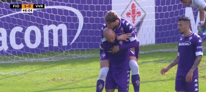 La Fiorentina volvió a ganar con contundencia (4-0). Twitter/acffiorentina