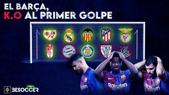 El Barcelona paga caro su fragilidad defensiva. BeSoccer Pro