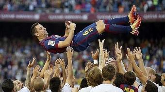 Les conditions pour que Xavi devienne l'entraîneur du Barça. EFE