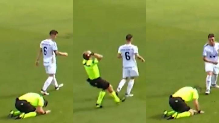 El arrepentimiento más sincero de un árbitro: su reacción no tiene precio