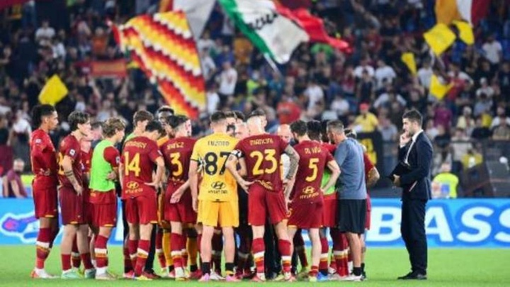 ´La Roma batte lo Zorya. AFP