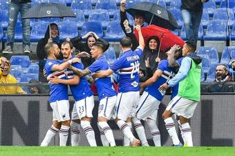 le formazioni ufficiali di Sampdoria-Spezia. AFP