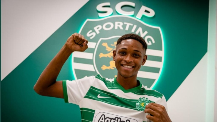 Le Sporting CP signe Lamarana Jallow, un jeune talent gambien. Twitter/Sportinf_CP