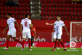 El Sevilla rozó la victoria ante el Mallorca. LaLiga