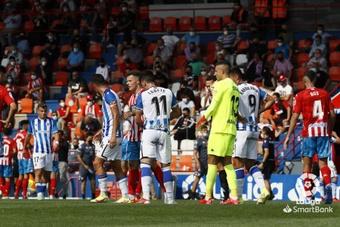 Lugo y Real Sociedad B empataron a cero. LaLiga
