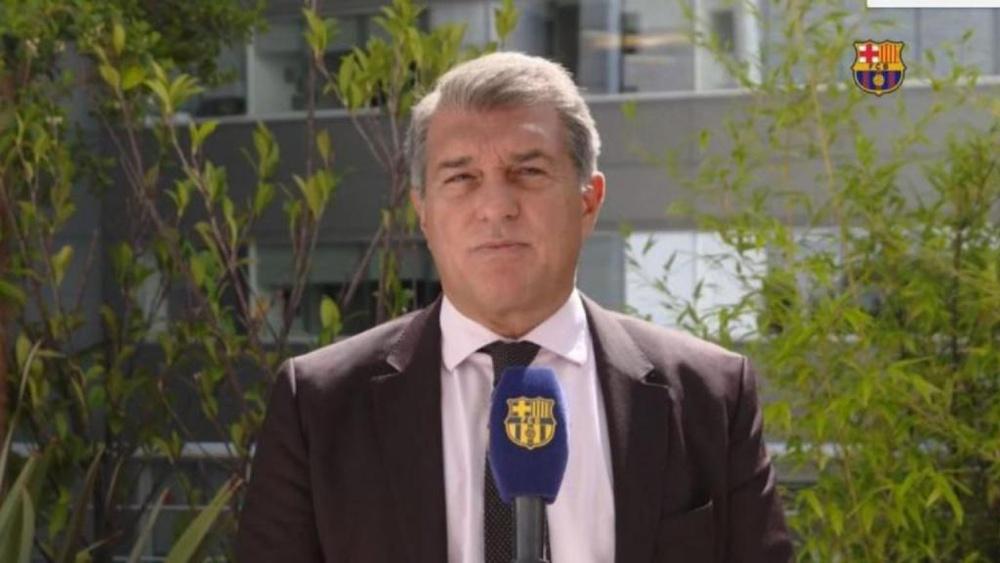 Laporta ripassa gli ultimi mesi. FCBarcelona