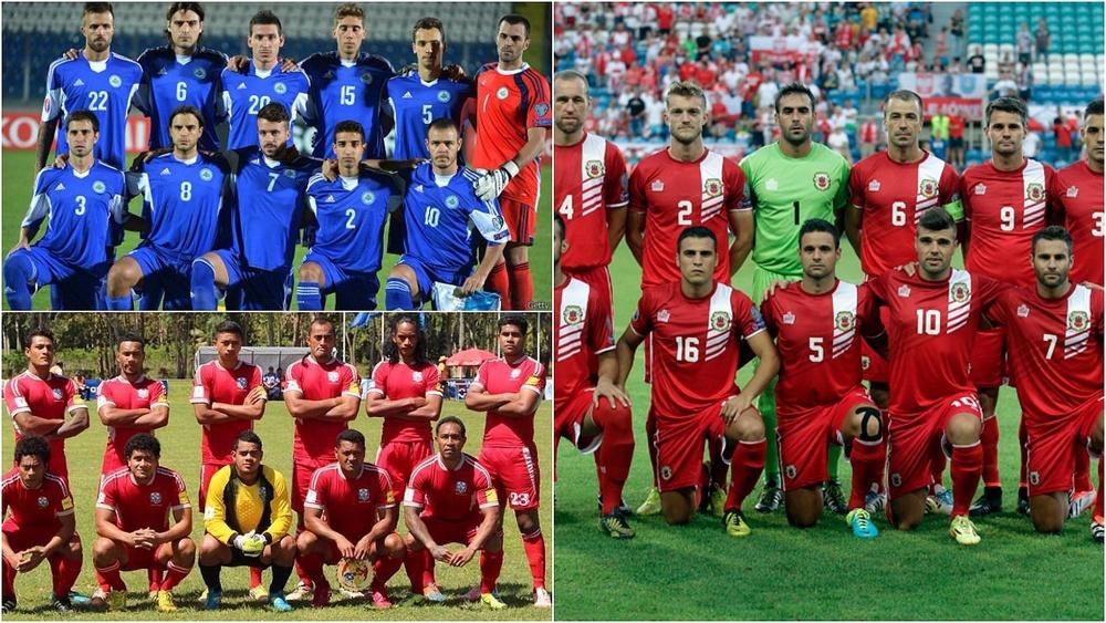 Las 10 peores selecciones del mundo, según el ranking FIFA. BeSoccer