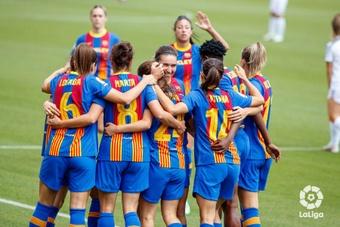 El Barcelona endosó un 0-5 al Sporting Huelva. LaLiga