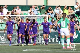 Geyse anotó cuatro goles en territorio andaluz. LaLiga