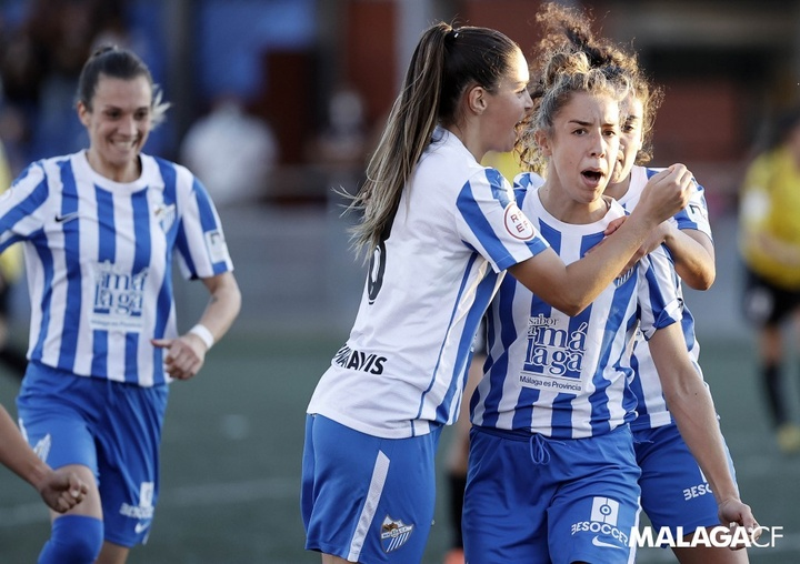 Nueva victoria para el Málaga Femenino, que está imparable. Twitter/MalagaCFemenino