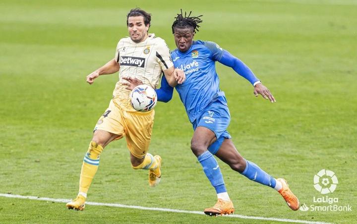 Sekou Gassama jugó cedido en el Fuenlabrada en la pasada temporada. LaLiga