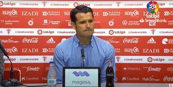 Lolo Esobar aseguró que la derrota ante el Alcorcón servirá de ayuda. YouTube/LaLigaSmartbank