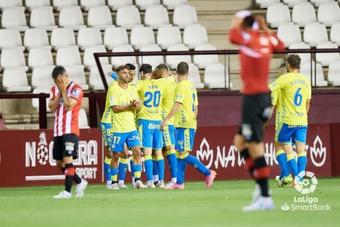 Las Palmas certificó el descenso del Logroñés en la última jornada. LaLiga