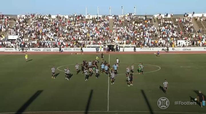 La Balona ganó 2-1 al Castilla. Captura/Footters