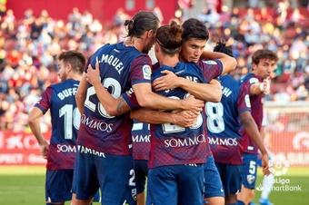 Un gol de Marc Mateu y dos de Seoane dieron el triunfo al equipo de Ambriz. LaLiga