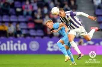El Valladolid regaló el empate en la recta final. LaLiga