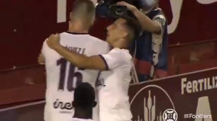 El Albacete venció 3-1 al Castellón. Captura/Footters
