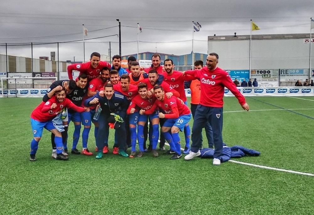 El Bergantiños jugará en la Copa en Riazor. EscolaSLCalvo