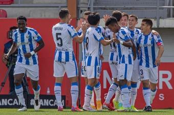 El Leganés firmó su segunda victoria consecutiva ante el Mirandés. LaLiga